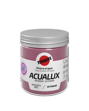 Titan Water-based paints Acualux Colors Red-Pink Titanlux