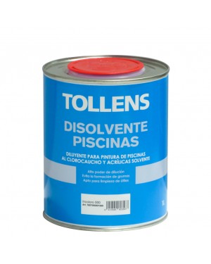 Tollens Chlorinated Rubber Solvent Tollens Swimming Pools 1 L