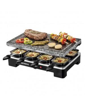 MONDIAL Raclette Grill + Stone Plate Mondial Le Gourmet