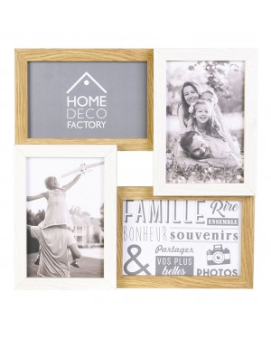 HABITEX Wooden frame 4 photos 10x15 cm