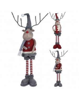 HABITEX Decorative reindeer 56 cms Assorted colors