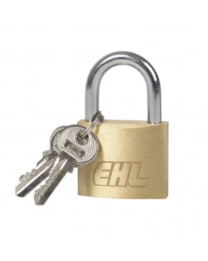 EHL Brass Padlock Normal Shackle EHL