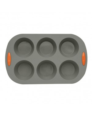 HABITEX Silicone baking tin for 6 Muffins