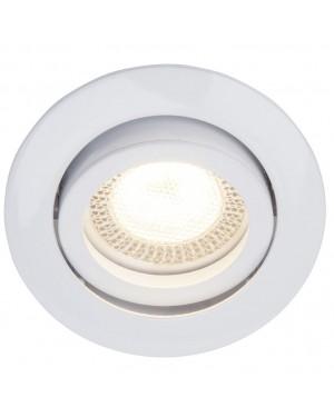 DUOLEC Interior wall light DUOLEC Leira White 84 mm