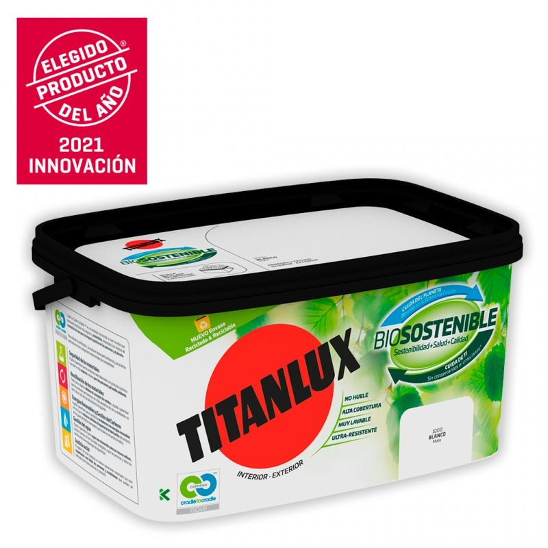 Titan Cubeta de pintura Biosostenible 4L Titanlux