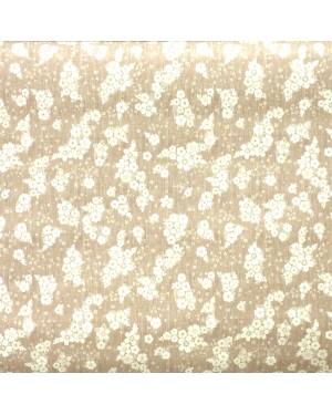 DINTEX Tablecloth Rubber QD-TEX Model Thelma Beige 140 x 100 cms