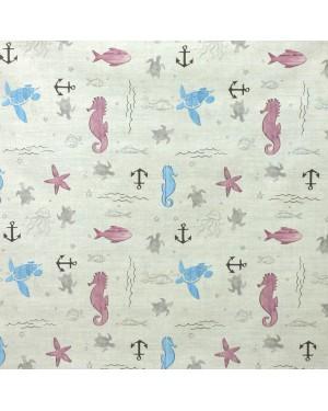 DINTEX Tablecloth Rubber QD-TEX Aquarium Model 140 x 100 cms