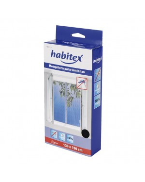 HABITEX Mosquiteiro para janela 130x150 cm HABITEX