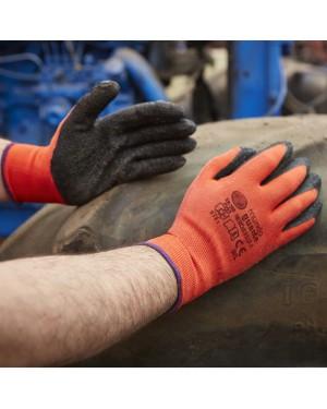 Glove world Par de luvas de látex Hercules