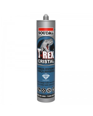 Soudal Sealer T-REX Cristal 290 ML SOUDAL