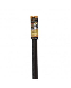 Miarco Weatherstrip sob porta rígida de PVC marrom MIARCO