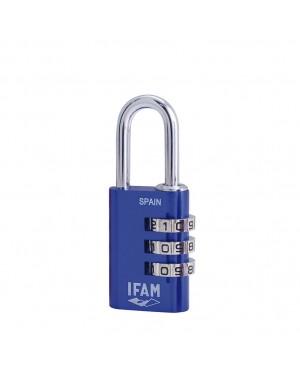 EHL Combination padlock IFAM aluminum Col Combi