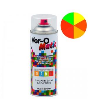 Brico-peintures Dami Fluorescent Satin Synthétique Spray 400 ML