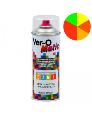 Brico-pinturas Dami Spray Sintético Fluorescente de Alto Brilho 400 ML