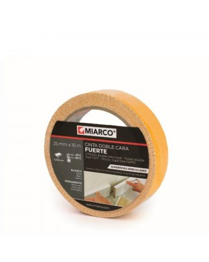 Miarco Double Sided Tape Irregular Surfaces 25mm x 10m Miarco