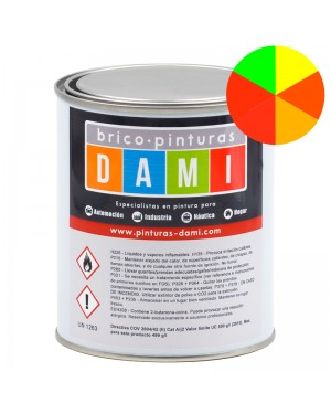 Brico-Gemälde Dami Synthetic Emaille S / R fluoreszierender Satin 1L