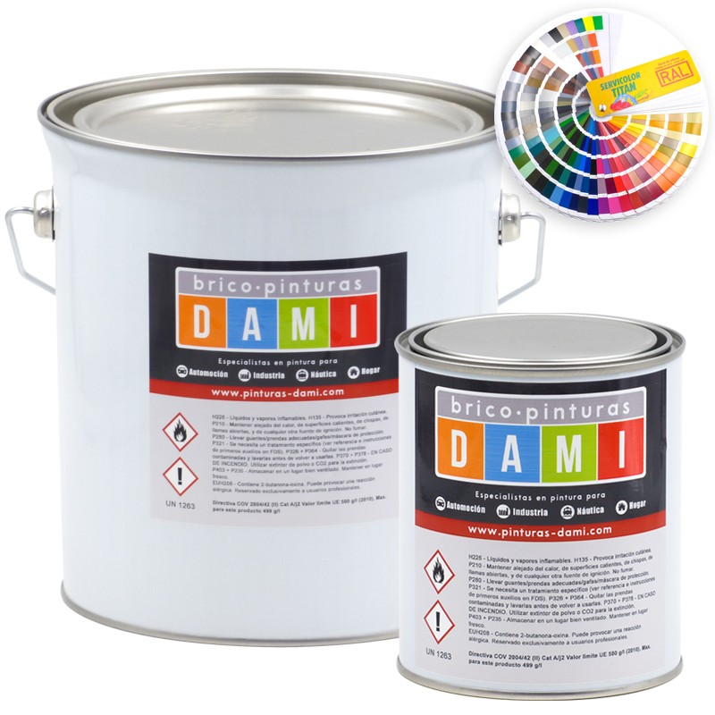 Brico-paintings Dami Two-layer Body Paint RAL colors