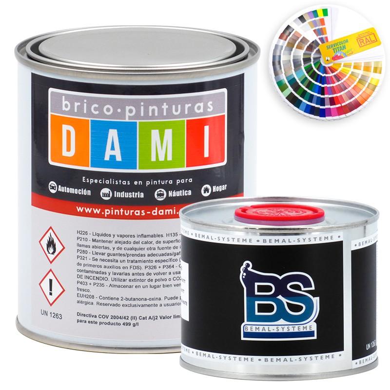 Brico-paints Dami Monolayer Bodywork Matt UHS 2K RAL color
