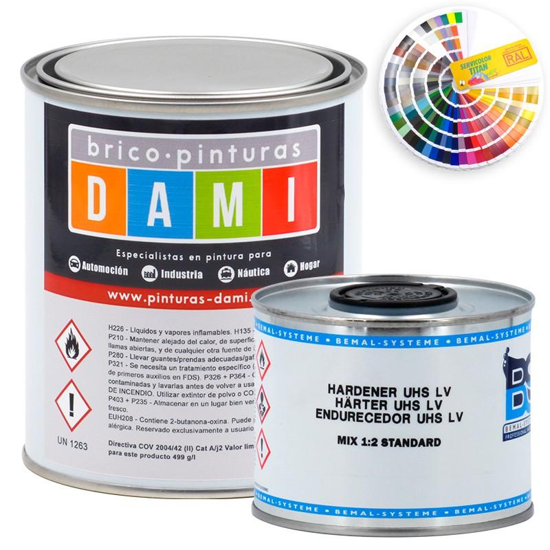 Brico-paintings Dami Monolayer Bodywork High Glossy UHS 2K RAL color