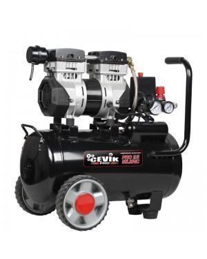 Cevik PRO Silent Compressor 25L 1.5HP + CEVIK KIT
