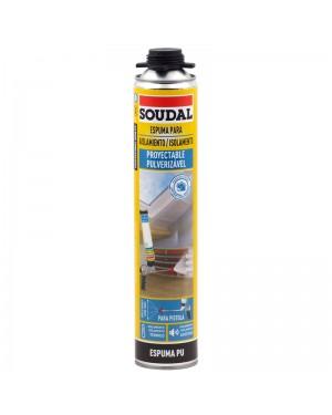 Espuma de Soudal para isolamento por spray 700 ML SOUDAL