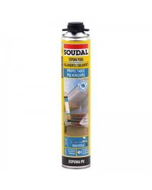 Schiuma Soudal per isolamento spray 700 ML SOUDAL