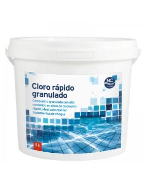 NC Pools Chlore Rapide Granulé 5 kg. Piscines NC