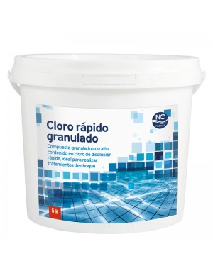 NC Pools Cloro Rápido Granulado 5 kgs. NC Pools