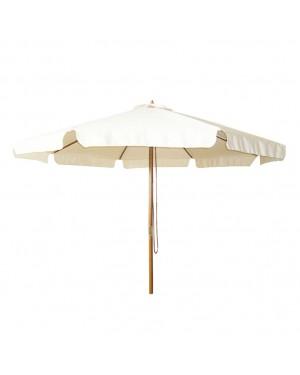EHL Parasol in varnished wood. ø 3m. neck ø 48mm.