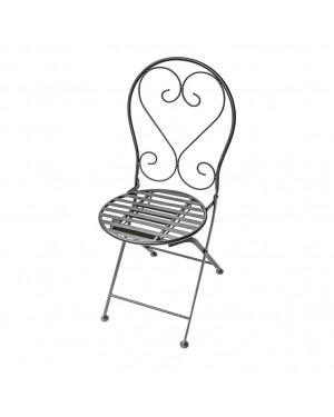 CADENA88 Set of 2 Folding chairs with metallic structure MOSAICO
