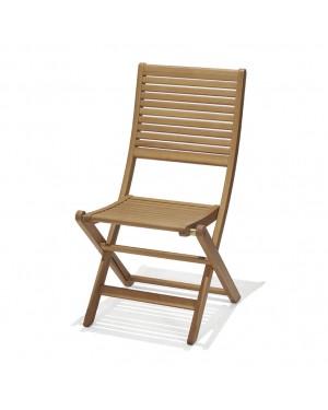 CADENA88 Set of 2 folding chairs BRISA eucalyptus wood