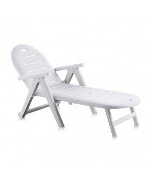 CADENA88 Lettino prendisole reclinabile e impilabile Shaf Cayman