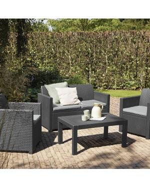 CADENA88 Garden set 2 Armchairs + sofa + table MERANO