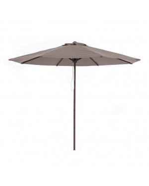 CHAIN88 Imitation wood aluminum parasol ø 3m. neck ø 48mm.