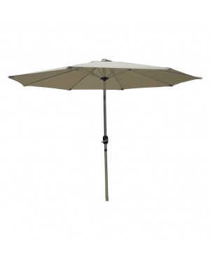 CHAIN88 Articulated aluminum parasol. ø 2.7 m. mast ø 38 mm.