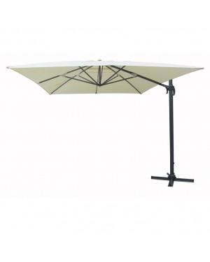 CADENA88 Aluminum side hanging parasol 3 x 3 m