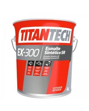 TitanTech Glossy Synthetic Enamel EX-300 White TitanTech 4 L