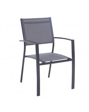 CADENA88 Aluminum and textilene armchair Parma