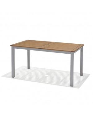 CADENA88 Garden table aluminum-wood Marina