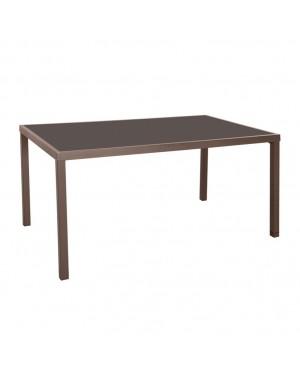 CADENA88 Steel-glass garden table MADEIRA