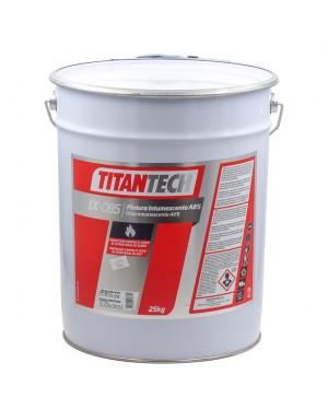 Peinture à l'eau intumescente Titan Professional IX-085 A85 25 KG TitanTech