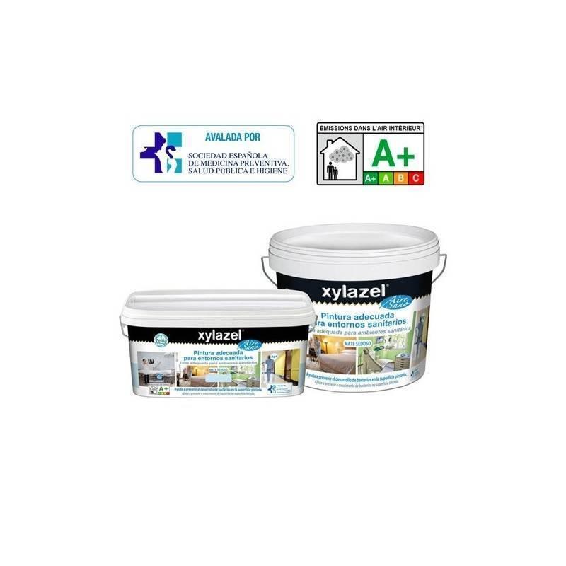 Xylazel aire sano pintura adecuada para entornos sanitarios for Pintura para sanitarios