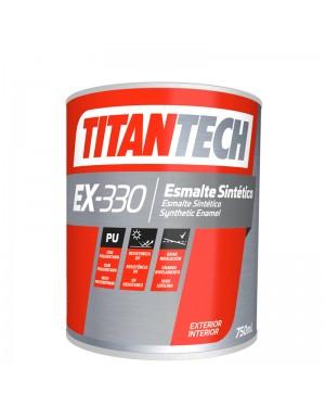 TitanTech Glossy White Synthetic Enamel EX-330 TitanTech