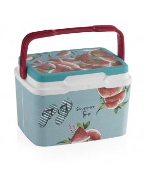 HABITEX Rigid camping fridge 5 lts. Watermelon