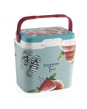 HABITEX Rigid camping fridge 29 lts. Watermelon