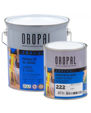 Irurena Group Orolux Satin White multi-surface water-based enamel