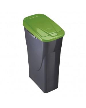 HABITEX Recycling Bin Ecobin 15 L Green Lid