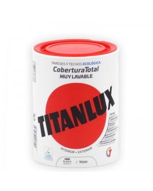 Titanlux Peinture Plastique Blanche Titanlux Couverture Complète