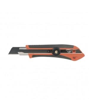RATIO Cutter Blade 18 Mm Manual Lock Bi-material Handle