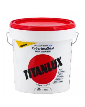 Titanlux Pintura Plástica Cobertura Total Colores 15L Titanlux